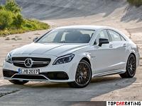 2015 Mercedes-Benz CLS 63 AMG S-Model 4Matic (C218) = 300 kph, 585 bhp, 3.6 sec.