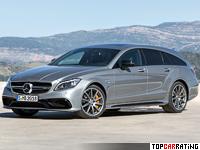 2015 Mercedes-Benz CLS 63 AMG Shooting Brake S-Model 4Matic (X218) = 300 kph, 585 bhp, 3.7 sec.