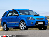 2008 Ford Territory FPV F6X = 240 kph, 367 bhp, 6.4 sec.