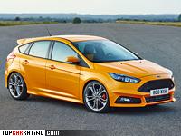 2014 Ford Focus ST = 248 kph, 258 bhp, 6.1 sec.