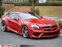 2014 Mercedes-Benz SL 500 SQUALO VITT Performance = 250 kph, 435 bhp, 4.3 sec.