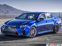 2016 Lexus GS F = 273 kph, 473 bhp, 4.8 sec.