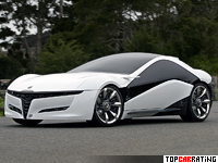 2010 Alfa Romeo Pandion Concept Bertone = 320 kph, 450 bhp, 3.9 sec.