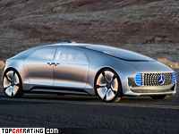 2015 Mercedes-Benz F 015 Luxury in Motion = 200 kph, 272 bhp, 6.7 sec.