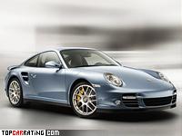 2010 Porsche 911 Turbo S = 315 kph, 530 bhp, 3.3 sec.
