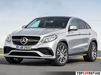 2015 Mercedes-AMG GLE 63 S Coupe 4Matic = 300 kph, 585 bhp, 4.2 sec.