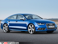 2015 Audi S7 Sportback = 250 kph, 450 bhp, 4.6 sec.