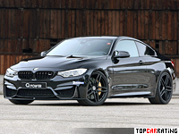 2014 BMW M4 G-Power = 325 kph, 520 bhp, 3.9 sec.