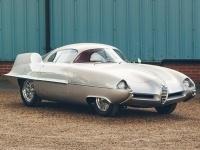 1955 Alfa Romeo Bertone BAT 9 = 200 kph, 115 bhp, 9.3 sec.
