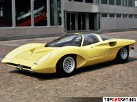 1970 Alfa Romeo 33 Pininfarina Concept = 255 kph, 233 bhp, 4.6 sec.