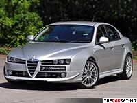 2009 Alfa Romeo 159 Autodelta J4 3.2 Compressore Q4 Sedan = 258 kph, 352 bhp, 5.8 sec.