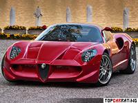 2006 Alfa Romeo Diva Espera Sbarro = 270 kph, 290 bhp, 5 sec.