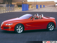 1999 Alfa Romeo Dardo Pininfarina = 235 kph, 189 bhp, 7.1 sec.