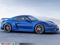 2015 Porsche Cayman GT4 = 295 kph, 385 bhp, 4.4 sec.