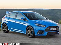 2015 Ford Focus RS = 265 kph, 350 bhp, 4.6 sec.
