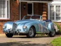 1948 Aston Martin 2L Sports (DB1) = 150 kph, 93 bhp, 22.2 sec.
