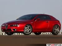 2009 Alfa Romeo Brera S = 244 kph, 260 bhp, 6.8 sec.