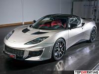 2015 Lotus Evora 400 = 295 kph, 406 bhp, 4.6 sec.