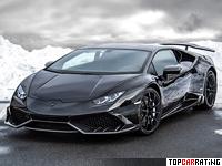2015 Lamborghini Huracan Mansory MH1 = 330 kph, 850 bhp, 2.9 sec.