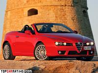 2006 Alfa Romeo Spider = 235 kph, 260 bhp, 7 sec.
