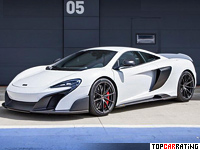 2015 McLaren 675LT = 338 kph, 675 bhp, 2.9 sec.