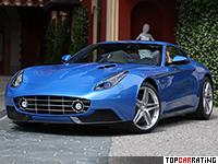 2015 Ferrari Berlinetta Lusso Touring = 340 kph, 740 bhp, 3.1 sec.