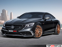 2015 Brabus 850 6.0 Biturbo Coupe = 350 kph, 850 bhp, 3.5 sec.