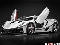 2015 GTA Spano = 370 kph, 925 bhp, 2.9 sec.
