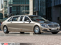 Mercedes-Maybach S600 Pullman  RWD 2016