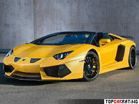 2015 Lamborghini Aventador Hamann Nervudo Roadster = 360 kph, 760 bhp, 2.9 sec.