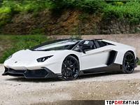 2013 Lamborghini Aventador LP720-4 50 Anniversario Roadster = 350 kph, 720 bhp, 3 sec.