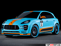 2015 Porsche Macan S Diesel Hamann = 230 kph, 300 bhp, 5.9 sec.