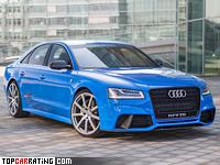 2015 Audi S8 MTM Talladega S = 350 kph, 802 bhp, 3.1 sec.