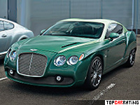 2012 Bentley Continental GTZ Zagato Special Edition = 330 kph, 625 bhp, 4.1 sec.