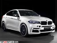 2015 BMW X6 M50d Hamann Widebody (F16) = 280 kph, 462 bhp, 4.9 sec.