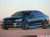 2014 Chevrolet SS Hennessey HPE600 Supercharged = 320 kph, 608 bhp, 3.9 sec.