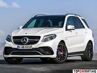 2015 Mercedes-AMG GLE 63 S 4Matic (W166) = 250 kph, 585 bhp, 4.2 sec.