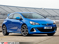 2012 Vauxhall Astra VXR = 250 kph, 280 bhp, 5.9 sec.