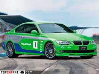 2012 Alpina B3 GT3 Edition = 300 kph, 408 bhp, 4.5 sec.
