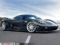 2008 Koenigsegg CCX Edition = 400 kph, 901 bhp, 3 sec.