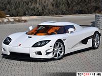 2011 Koenigsegg CCXS = 405 kph, 1032 bhp, 2.9 sec.