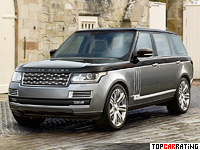 2015 Land Rover Range Rover SV Autobiography = 250 kph, 550 bhp, 5.1 sec.