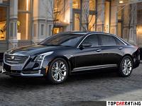 2016 Cadillac CT6 = 250 kph, 406 bhp, 5.2 sec.