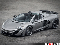 2015 McLaren 650S FAB Design Vayu RPR Spider = 338 kph, 682 bhp, 3 sec.