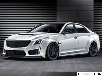 2015 Cadillac CTS-V Hennessey HPE1000 Supercharged = 386 kph, 1014 bhp, 3.1 sec.