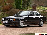 1989 BMW M5 3.5 (E34) = 250 kph, 315 bhp, 6.3 sec.