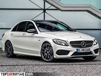 2015 Mercedes-Benz C 450 AMG 4Matic = 250 kph, 367 bhp, 4.9 sec.