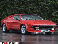 1982 Lamborghini Jalpa P350 = 249 kph, 258 bhp, 6.4 sec.
