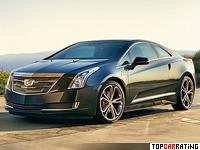 2016 Cadillac ELR = 209 kph, 233 bhp, 6.8 sec.