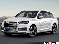 2015 Audi Q7 E-tron TDI Quattro = 225 kph, 373 bhp, 6 sec.